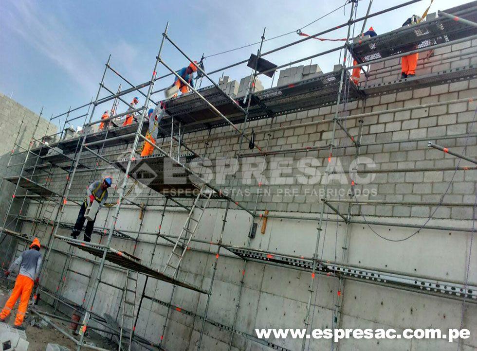 proyectos prefabricados construccion peru