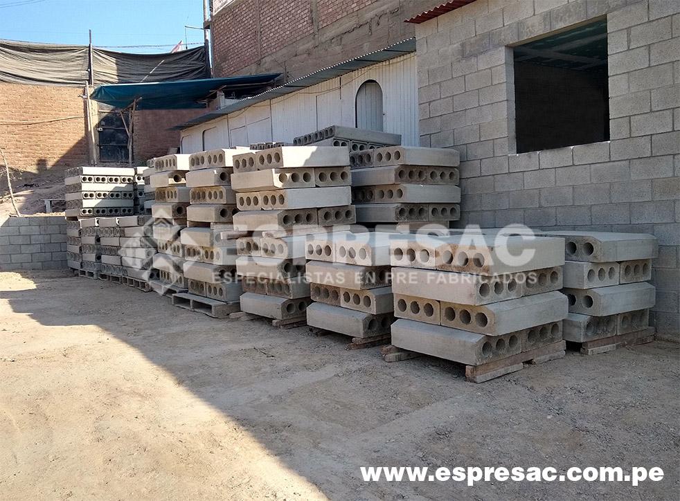 fabricacion sardineles prefabricados lima peru